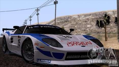 Ford GT Matech GT3 Series для GTA San Andreas вид слева