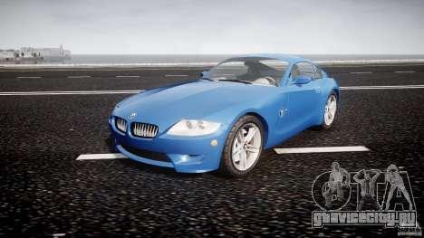 BMW Z4 Coupe v1.0 для GTA 4 вид сзади