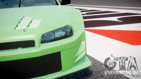 Nissan Skyline R34 v1.0 для GTA 4 салон