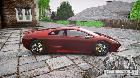 Lamborghini Murcielago v1.0b для GTA 4 вид слева