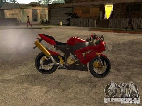 Kawasaki Ninja ZX 10R для GTA San Andreas вид слева