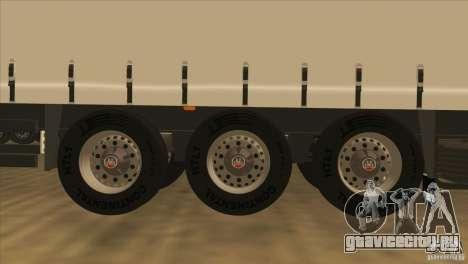 SchmitZ Cargobull для GTA San Andreas вид сзади