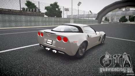 Chevrolet Corvette Z06 1.1 для GTA 4 вид сбоку