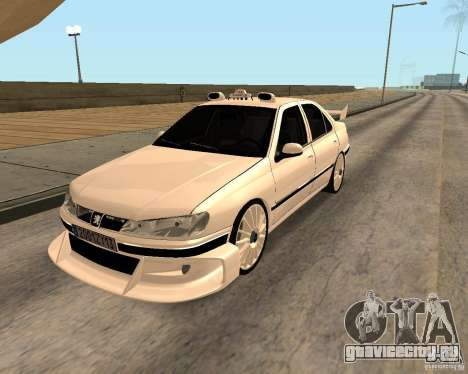 Peugeot 406 Taxi 2 для GTA San Andreas