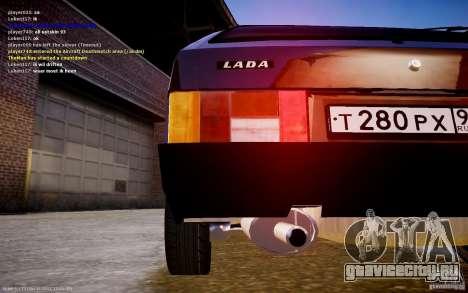 ВАЗ 2108 для GTA 4 вид сзади слева