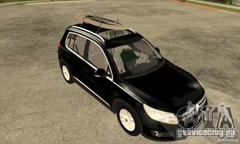Volkswagen Tiguan 2.0 TDI 2012 для GTA San Andreas вид сбоку