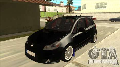 Suzuki SX4 Rally Tuning для GTA San Andreas