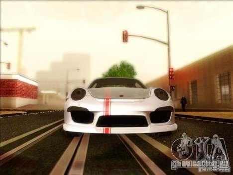 Porsche 911 Carrera S (991) Snowflake 2.0 для GTA San Andreas вид изнутри