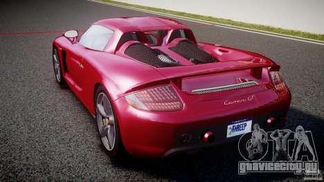 Porsche Carrera GT [EPM] для GTA 4