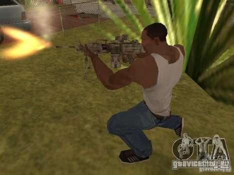 Пулемёт MK-48 для GTA San Andreas пятый скриншот