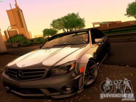 Mercedes-Benz C36 AMG для GTA San Andreas вид сверху