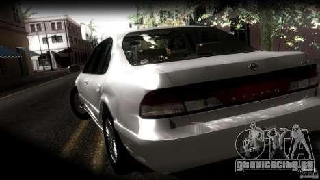 Nissan Cefiro A32 Kouki для GTA San Andreas вид снизу