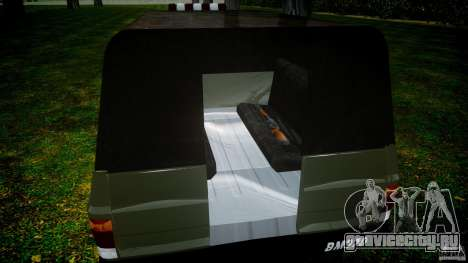 Chevrolet D20 Brigada Militar RS для GTA 4 вид сверху