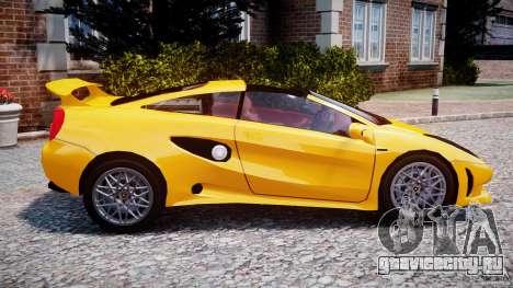 Lamborghini Cala для GTA 4 вид слева