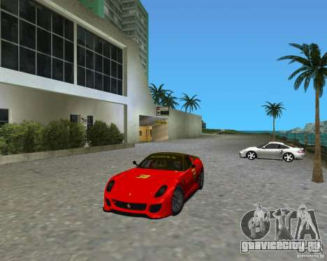 Ferrari 599 GTO для GTA Vice City