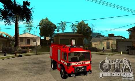 Roman 8135 FA для GTA San Andreas вид сзади