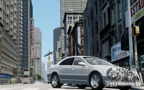 Acura RL 2006 для GTA 4 вид слева