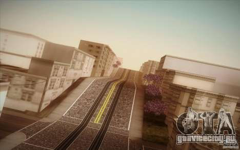 New roads San Fierro для GTA San Andreas седьмой скриншот