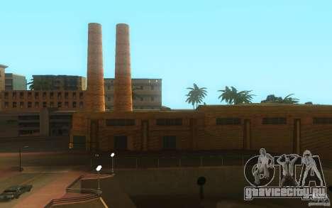 Новые текстуры завода в Лос Сантосе для GTA San Andreas второй скриншот