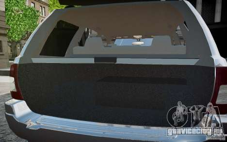 Jeep Grand Cheroke для GTA 4 двигатель