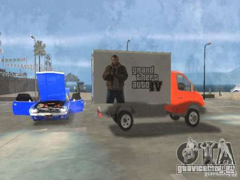 ГАЗель 33022 для GTA San Andreas вид справа