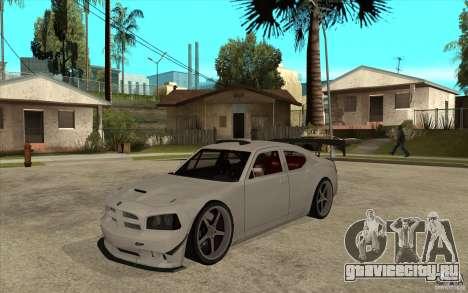Dodge Charger 2009 для GTA San Andreas