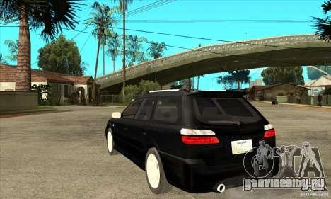 Subaru Legacy Station Wagon для GTA San Andreas вид сзади слева