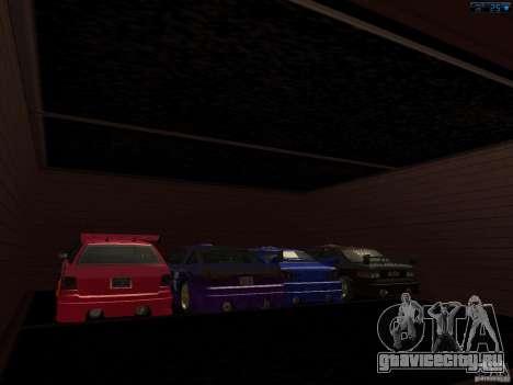 Новый гараж в Сан-Фиерро для GTA San Andreas второй скриншот