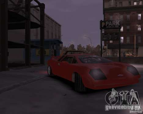Infernus - Vice City для GTA 4 вид слева
