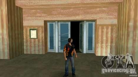 Mr. Fire с синими джинсами для GTA Vice City