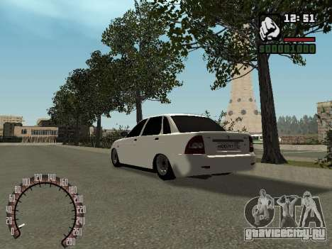 ВАЗ 2170 для GTA San Andreas вид слева