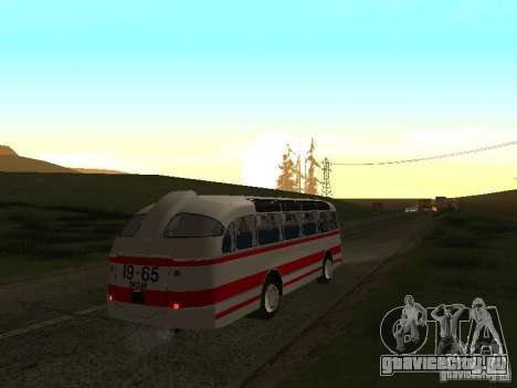 ЛАЗ 697Е Турист для GTA San Andreas вид справа