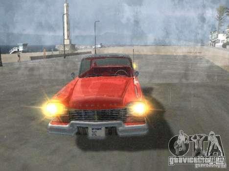 Plymouth Belvedere Sport sedan для GTA San Andreas вид сбоку