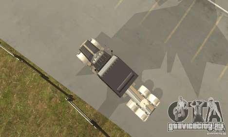Peterbilt 379 Custom Legacy для GTA San Andreas вид сзади