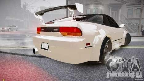 Nissan Sileighty для GTA 4 вид сзади слева