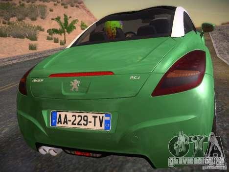 Peugeot RCZ 2010 для GTA San Andreas вид слева