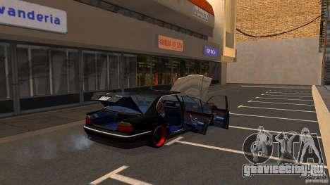 BMW E38 750LI для GTA San Andreas вид сбоку