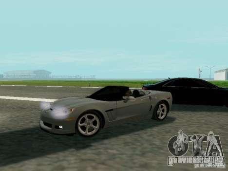 Chevrolet Corvette C6 GS Convertible 2012 для GTA San Andreas