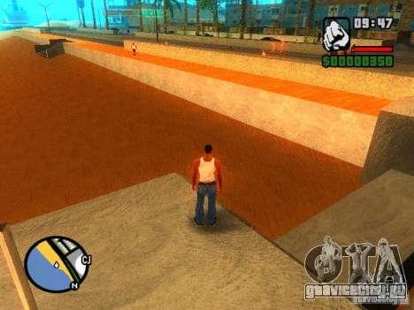 Текстуры района Восточный пляж для GTA San Andreas третий скриншот