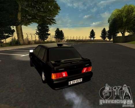 ВАЗ 2115 TJK для GTA San Andreas вид справа