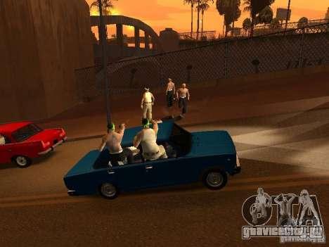 Вагосы в стиле Grove для GTA San Andreas третий скриншот