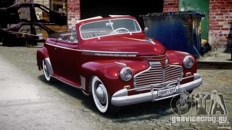 Chevrolet Special DeLuxe 1941 для GTA 4 вид сзади