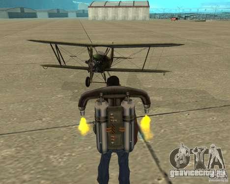 ПО-2 для GTA San Andreas вид изнутри