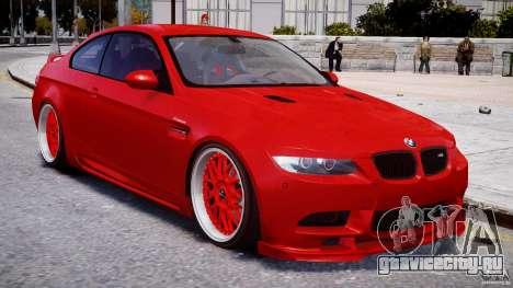 BMW M3 Hamann E92 для GTA 4 вид сбоку