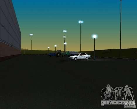 Автомобили на парковке у Анашана для GTA San Andreas третий скриншот