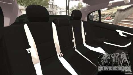Volvo S60 R Design для GTA 4 вид сбоку