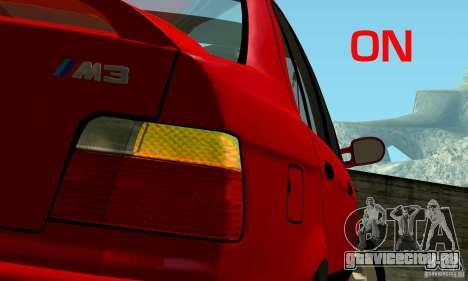 BMW  M3 Е36 для GTA San Andreas колёса