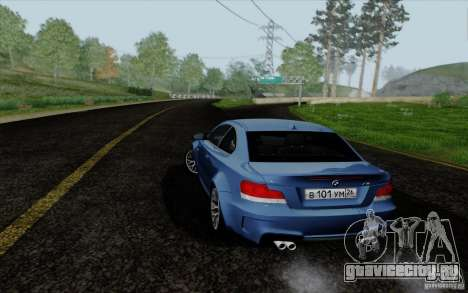 BMW 1M 2011 V3 для GTA San Andreas вид слева