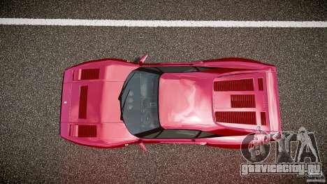 Ferrari 288 GTO для GTA 4 вид сверху