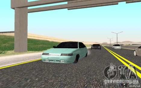 ВАЗ 2112 Light Tuning для GTA San Andreas вид сзади слева